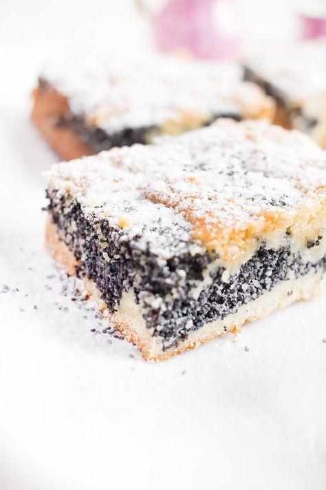 Low Carb Mohnkuchen – Low Carb Köstlichkeiten