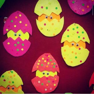 hatching chick craft for easter
