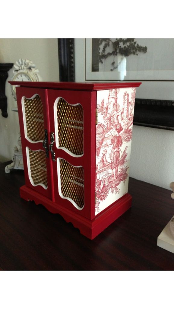 49 best jewelry box remake ideas images on pinterest for Old jewelry box makeover