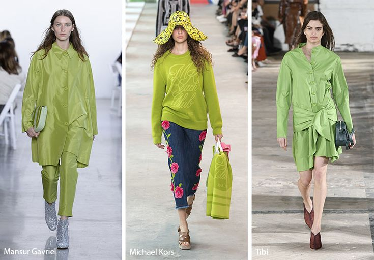 Spring/ Summer 2019 Color Trends | SS19 | Spring fashion ...