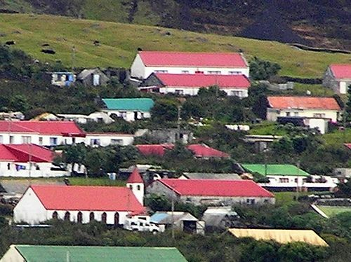 Housing in Tristan da Cunha