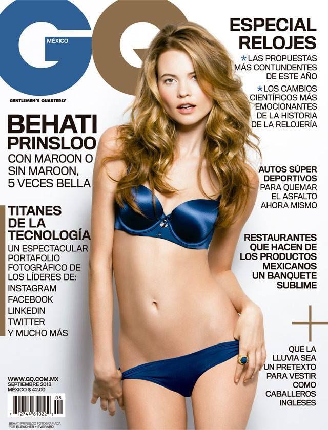 La hermosa modelo Behati Prinsloo es nuestra portada de septiembre 2013.