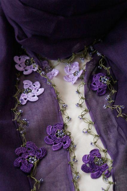 画像3: トゥーオヤの花花ストール (3)