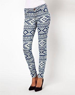 Vero Moda Aztec Jean | via ASOS
