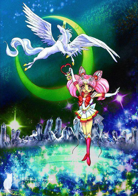 sailor moon, super sailor chibimoon, sailor chibimoon, chibiusa, rini, pegasus, pretty guardian sailor moon, bishoujo senshi sailor moon