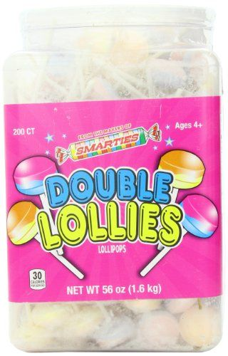 BESTSELLER! Smarties Double Lollies, 200 Count $16.45