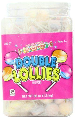 BESTSELLER! Smarties Double Lollies, 200 Count $16.45