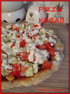 Domowa pizza kebab! Jak z pizzerii :)