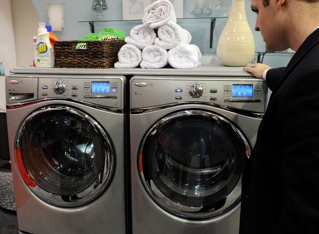 Clr To Clean Washing Machines Hunker Clean Washing Machine Washing Machine Washing Machine Repair