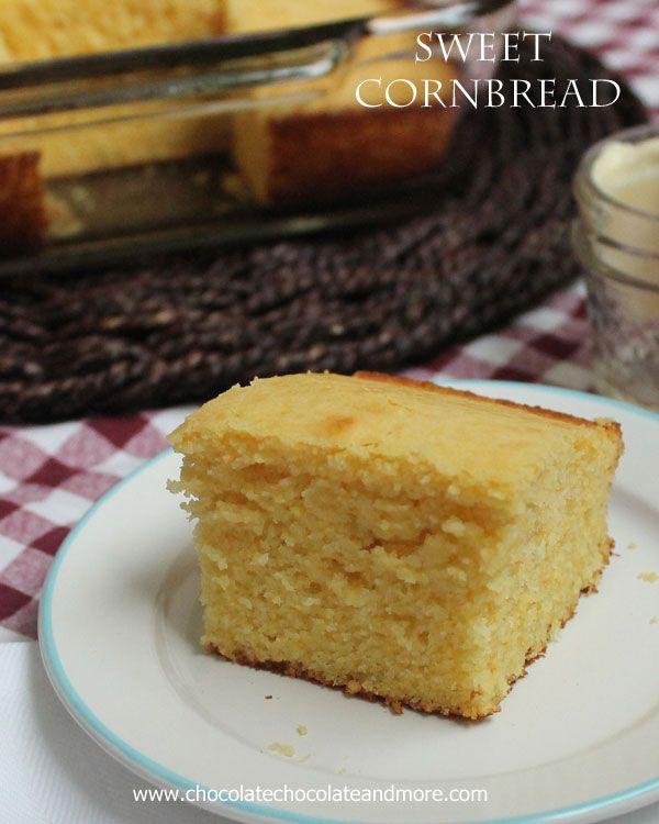 Dulce Pan de maíz-el pan de maíz Húmedo perfecto!