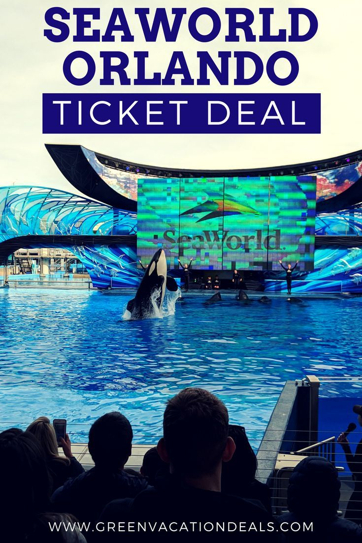 Seaworld Orlando Ticket Deal 2019 Orlando Tickets Seaworld