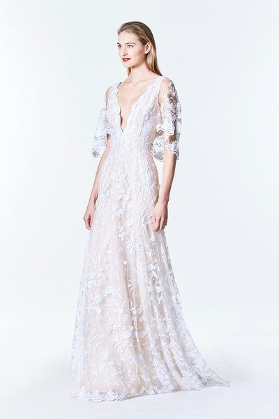 Carolina Herrera Bridal Fall 2017 Fashion Show Wedding GownsBridal