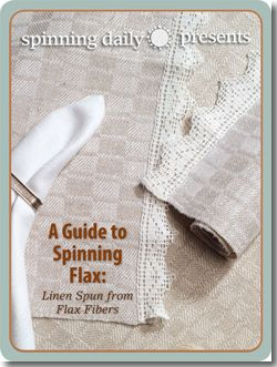Download this Free eBook to Learn How to Process Flax Fibers and Spin Flax