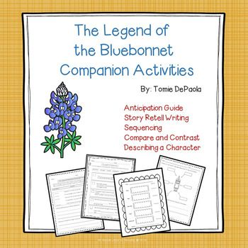 The Legend of the Bluebonnet is a Native American tale that tells the story of a young girl who must make a great sacrifice for her people. These companion activities will deepen understanding of the story for students and help them relate it to their own lives.