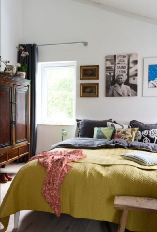 """This bedroom is from our feature """"Quirky Talents"""""""