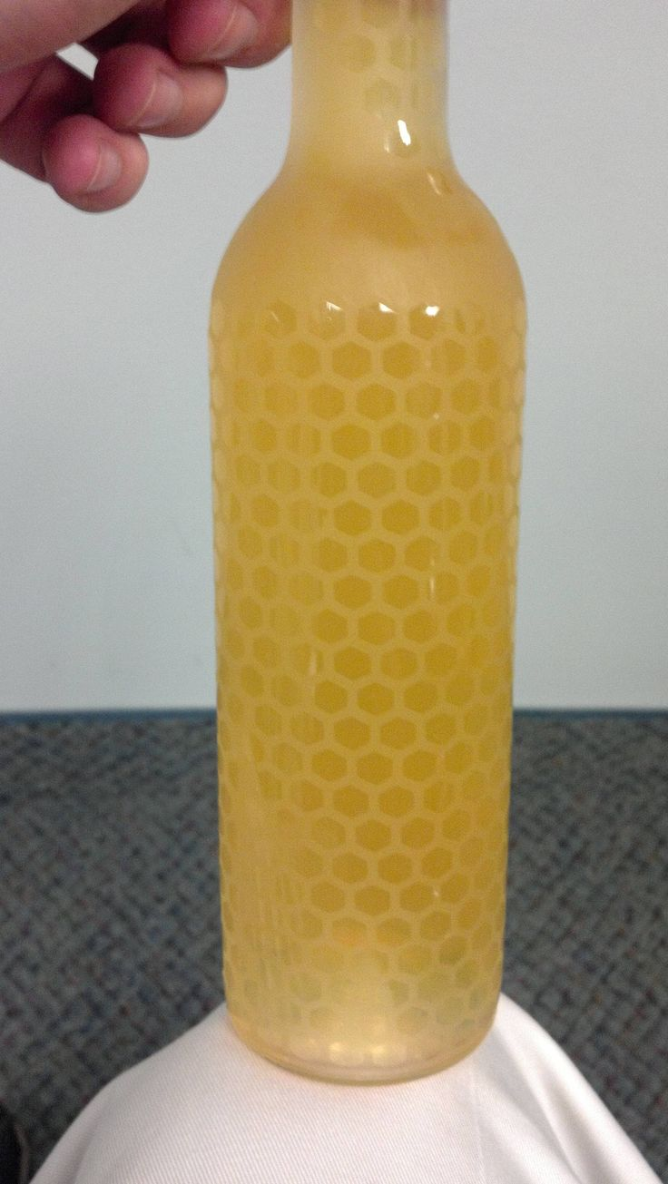 Etched Honeycomb Mead Bottle - pretty sure this uses the same pattern I posted earlier!
