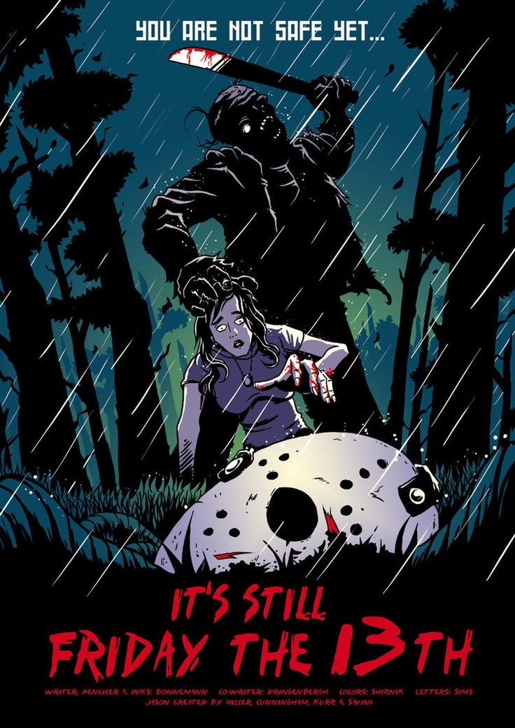 www.andygrail.com/ I've always thought abot how much fun it would be to create my own Horror Comics with famous characters like Jason Voorhees or Freddy Krueger. Here are some Covers for fictional ...