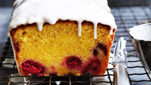 Helen Goh's lemon and raspberry loaf cake recipe Recipe | Good Food