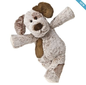Marshmallow Puppy from Mary Meyer.  Available now at Bobangles.  #MaryMeyer #plush #toy #kids #cute #Australia #puppy
