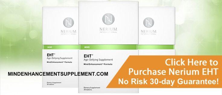EHT® Brain Health Supplement | EHT Mind Enhancement Supplement