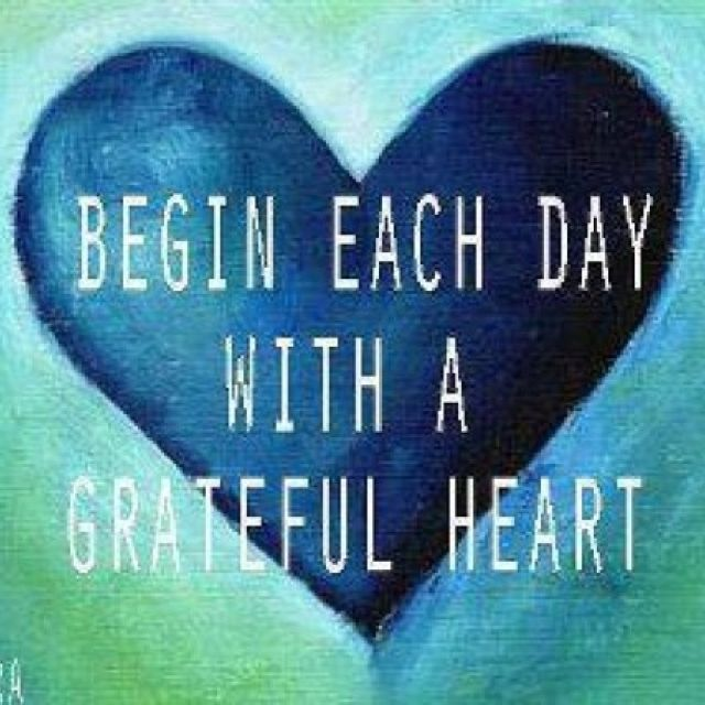 give thanks with a grateful heart | Thankful Thursday – Living in Gratitude
