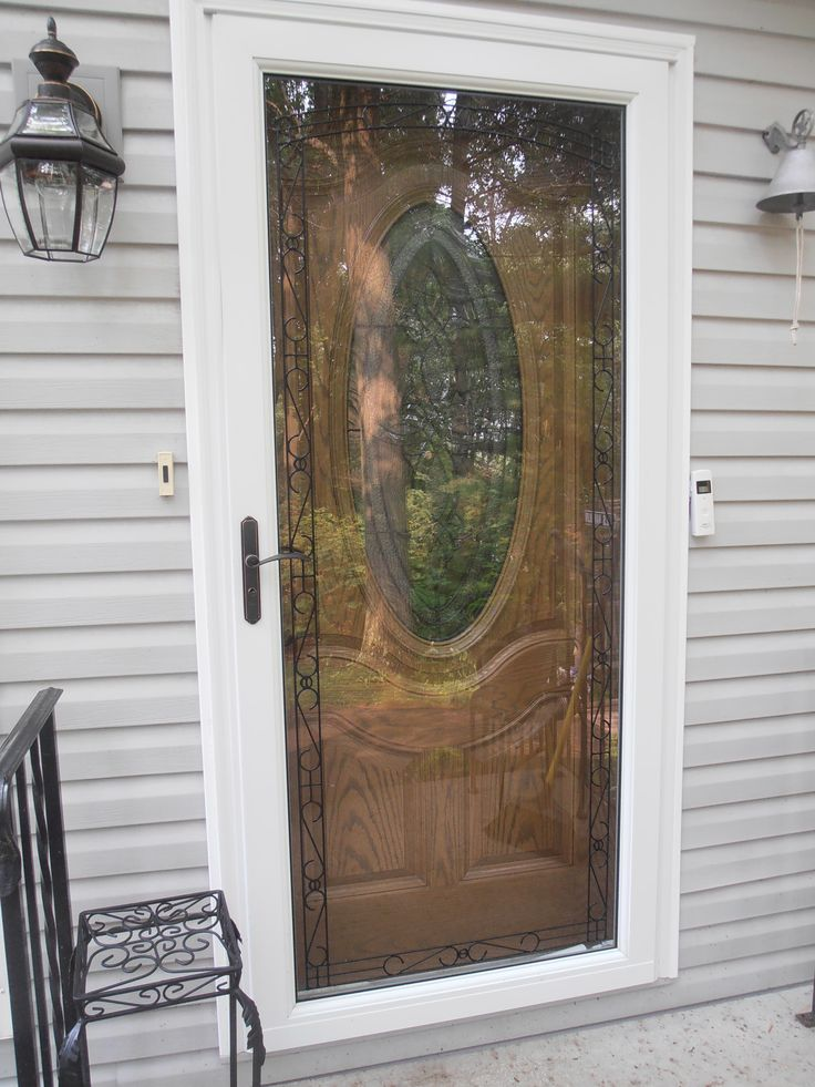 26 best larson storm doors images on pinterest larson for Front door with storm door