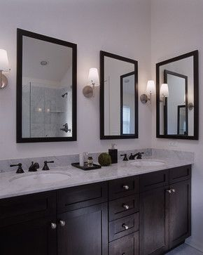 Best Bathrooms Images On Pinterest Bathroom Shower Doors - Antique bronze bathroom mirrors for bathroom decor ideas