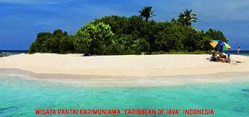 "Foto : Wisata Pantai Karimun Jawa ""Carribean of Java"" Indonesia"