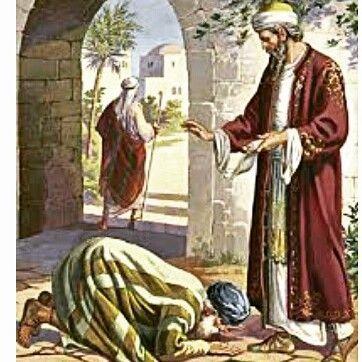 """Matius 18:21-35 . . Perumpamaan tentang pengampunan. . . Kemudian datanglah Petrus dan berkata kepada Yesus: """"Tuhan sampai berapa kali aku harus mengampuni saudaraku jika ia berbuat dosa terhadap aku? Sampai tujuh kali?"""" Yesus berkata kepadanya: """"Bukan! Aku berkata kepadamu: Bukan sampai tujuh kali melainkan sampai tujuh puluh kali tujuh kali. Sebab hal Kerajaan Sorga seumpama seorang raja yang hendak mengadakan perhitungan dengan hamba-hambanya. Setelah ia mulai mengadakan perhitungan itu…"""