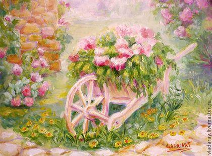 """картина """"Уютное местечко"""" - красивые картины маслом,уютные картины маслом"""