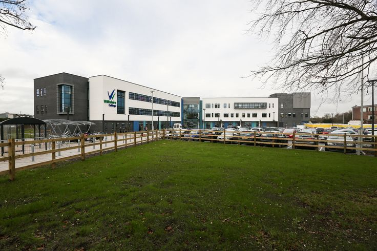 Wiltshire College - Exterior wide angle