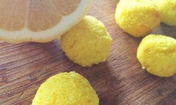 Lemon Coconut Macaroon