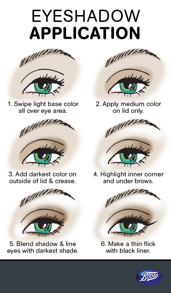 497 best make up and nails images on pinterest beauty makeup how to apply eye shadow for beginners ccuart Images