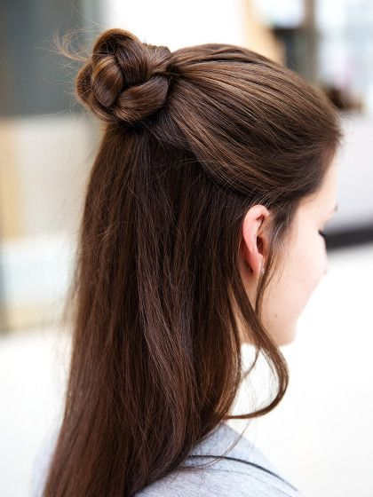 5 ways to style your Half Bun