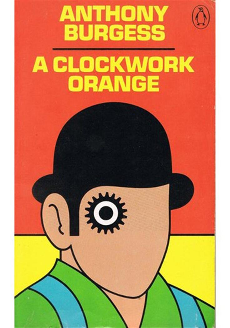 A clockwork orange penguin books covers orange book