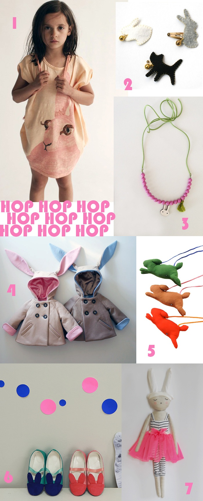 hop hop hop-  bunny kids fashion and accessories round up