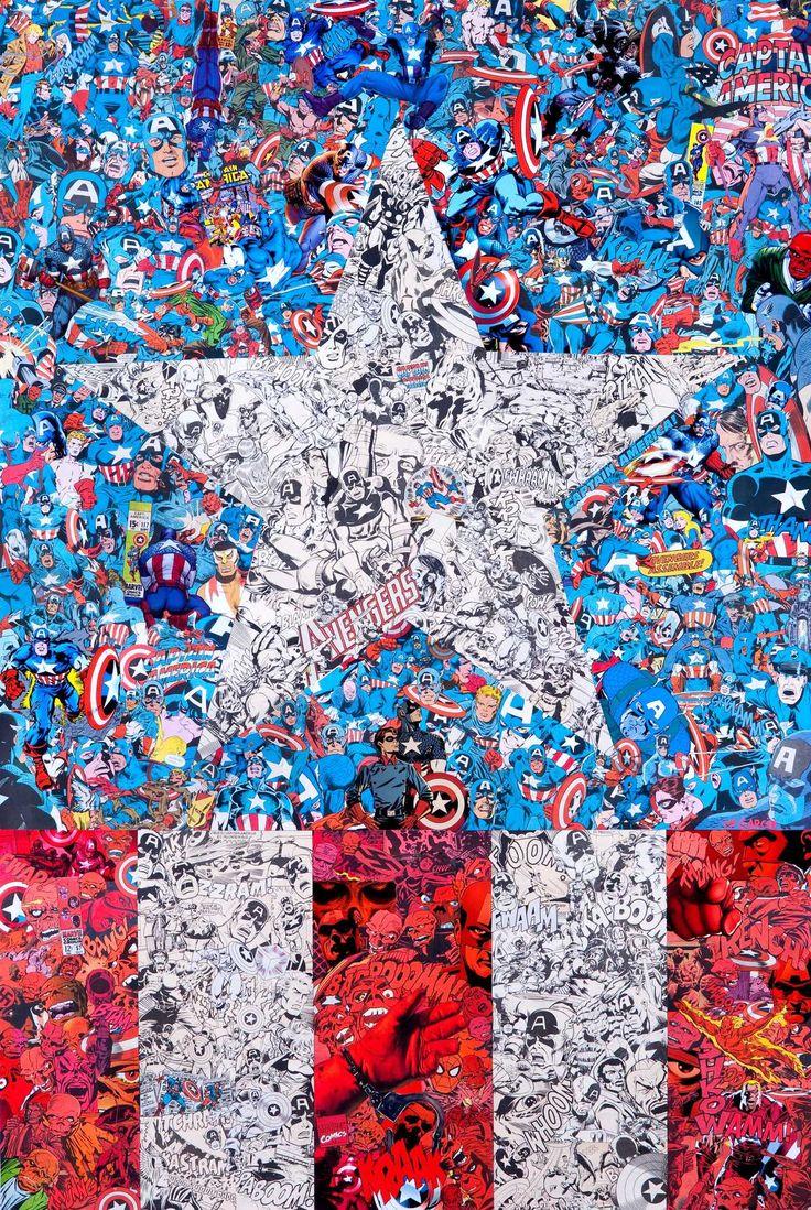 Capitán América - wallpapers - Universo Marvel