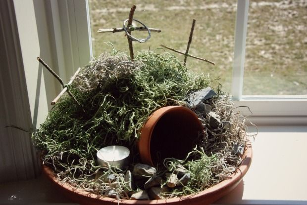 25 best ideas about easter garden on pinterest catholic for Domestic garden ideas