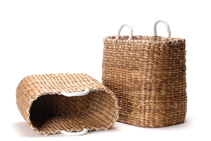 Wateryacinth basket // Ψάθινη τσάντα καλάθι από υδροϋάκυνθο http://www.nicknack.gr/product/psathini_tsanta_kalathi_udroiakintho_kal_026672/b2c_baskets