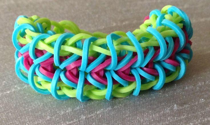 77 Best Rainbow Loom Bracelets My Etsy Shop Images On