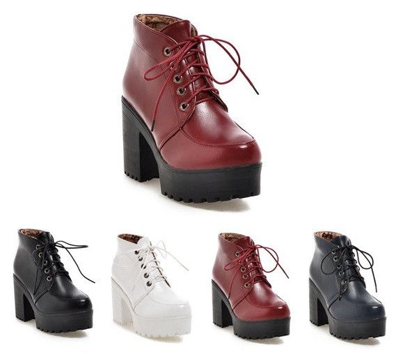 907233d3a Womens Edgy Platform High Heel Boots | the wonderful world of clothes/shoes/accessories  | Boots, High heel boots, Heeled boots