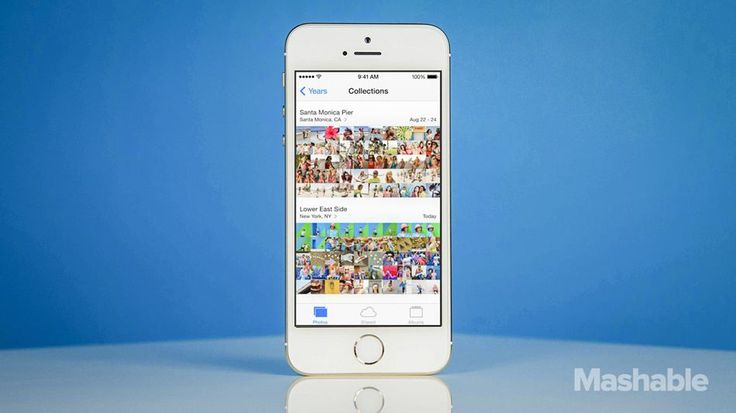 What's the difference between Camera Roll and Photo Stream