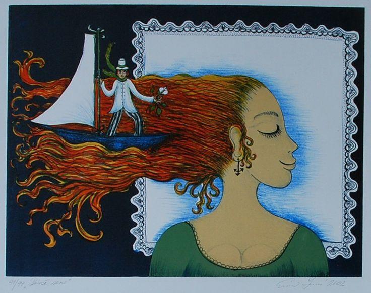 Nabídka děl - Srncová Emma | IKAROS Galerie Antik