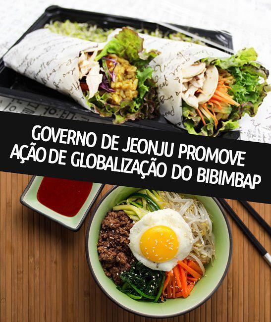 Governo de Jeonju promove ação de globalização do Bibimbap