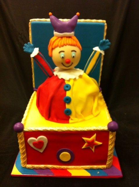 Jack in the Box Cake
