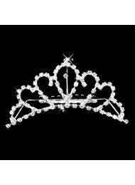 Flash diamant diamant bruids-haaraccessoires en elegante bruidsjurk kroon