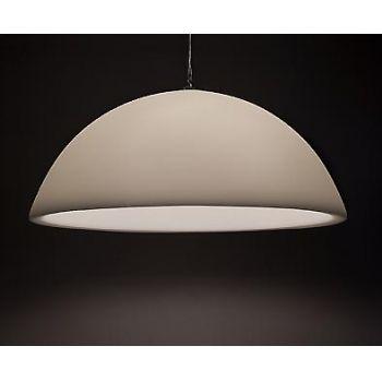 Morgen is hij van mij witte hanglamp 90 cm diameter