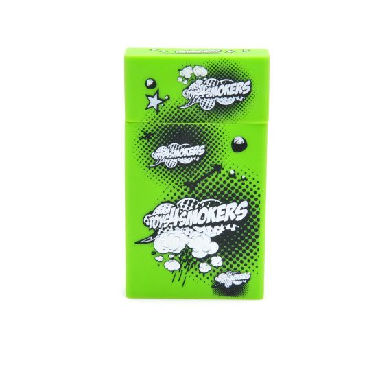 Cigarette Case Toys4Smokers Slim by toys4smokers on Etsy, zł19.99 #etsy #design #toys4smokers #smoking #cigarette