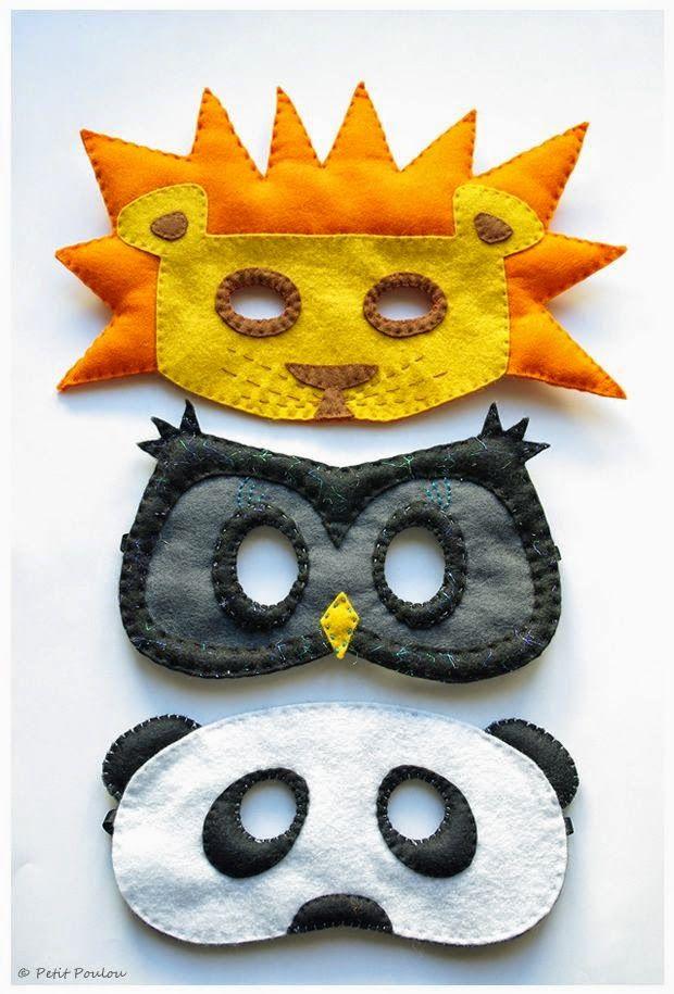 Meu Mundo Craft маски с выкройками                                                                                                                                                                                 Mais