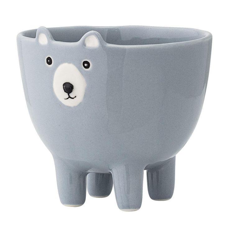 Keramická miska Bear modrá - Elarte ♦ Eshop s českým a světovým designem. Bytové dekoracemi a doplňky. Originální a jedinečné šperky.